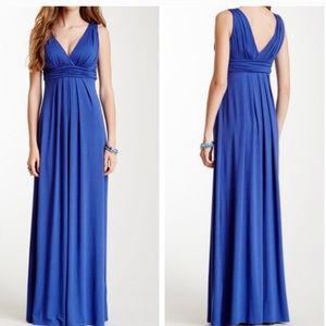 NWOT Tart Teal Adriana Maxi Dress XS